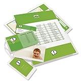 GBC IB589799 Laminiertaschen A2, 2 x 125 Micron glänzend, für große Dokumente (Poster, Schilder, Pläne), 426 x 600 mm, 100 Stück