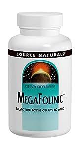 Source Naturals Mega-folinic, 120 Tabs