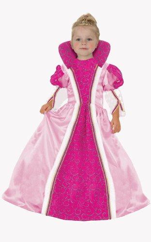 Dress Up America - Reina majestuosa, disfraz para niñas, 1-2 años (561-T2)