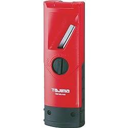 Tajima TBK180-H45 Rabot à chanfreiner 45° 180 mm, Noir/Rouge
