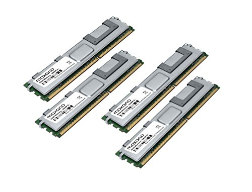 16GB Dual Channel KIT (4x 4GB) für Dell PowerEdge 1900 DDR2 667MHz PC2-5300 Fully-Buffered RAM Speicher - Ddr2-667 Pc2-5300 Server