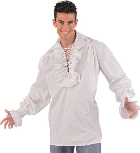 Limit Sport Mascarada NC033 XXL - Hemd Don Diego Kostüm, Größe XXL, (Diego Kostüm)