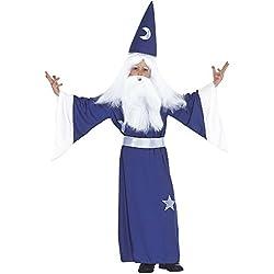 WIDMANN Widman - Disfraz de mago para niño, talla 5-7 años (38266)
