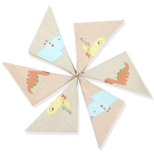 Baberos para bebés @Almondcy Cute Animal Baby Baberos Unisex, para bebés y niños pequeños, Pure Cotton Stylish Bibs 6-Pack
