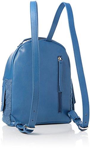 Fiorelli Damen Anouk Rucksackhandtasche, 12x27x22 cm Blau (Denim Quilt)