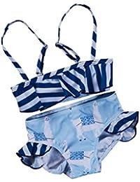 Poachers Ropa baño Niñas bebé Verano 6meses-5años Dos Piezas natación Playa Conjuntos Bikinis Cómodo