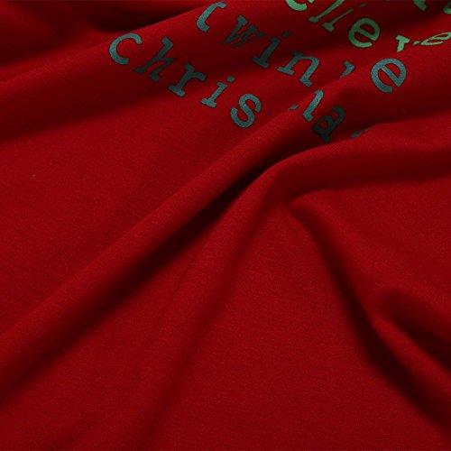 Kasit famiglia genitore-figlio di Natale Moose abbigliamento pigiameria mamma papà Cervi pigiama a righe impostato Uomo S