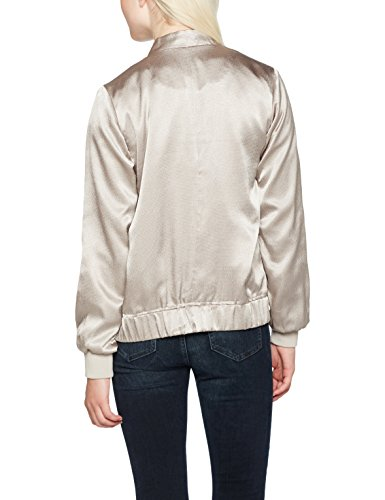 New Look Damen Jacke Close Metallic Gold