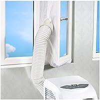 Rhodesy Joint de Fenêtre pour La Climatisation Mobile et Sèche-Linge, Adapté à L'unité de Conditionnement d'air Portable, Arrêt d'air Chaud Facile à Installer Pas Besoin de Trous de Forage 400CM