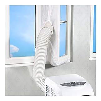 Rhodesy Aislamiento de Ventanas para Aire Acondicionado Móvil y Secadora, Adecuado para Unidad de Aire Acondicionado Portátil, Parada de Aire Caliente – Fácil de Instalar – Tamaño 300CM