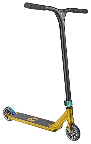 Crisp Evolution Complete Pro Stunt Scooter - Gold / Schwarz Gold Metallic