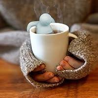 Mr Tea Infuser Silicone Herbal Tea Strainer Filter