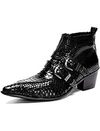 Sunny Baby Uomo Premium in pelle OX di alta qualità Oxfords Gentlemen  SnakeSkin Texture scarpe a punta e2f226b8d69