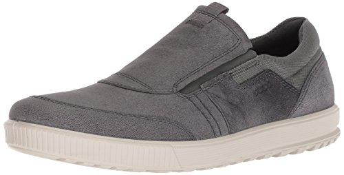 ECCO Herren Ennio Sneaker, Grau (Dark Shadow 12602), 42 EU Herren-slip-on-sneakers