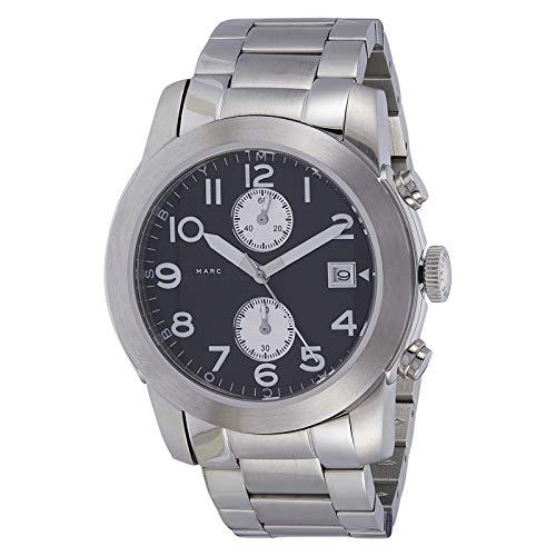 Marc Jacobs mbm5050-Uhr für Männer, Edelstahl-Armband Silber (Uhren Marc Männer Jacobs)