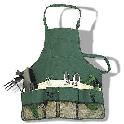 Inspirion 601011 7-teilige Gartenschürze mit Zubehör (Größte Abfall-taschen)