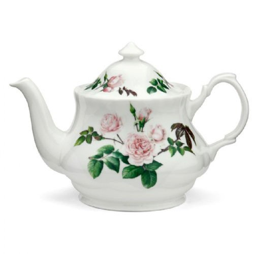 Teekanne English Rose von David Austin - Roy Kirkham Alte Rose Fine China