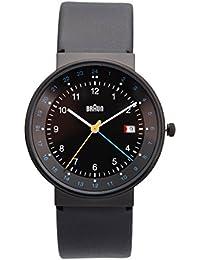 Braun Unisex-Armbanduhr BN0142BKBKG Analog Quarz Leder 66557
