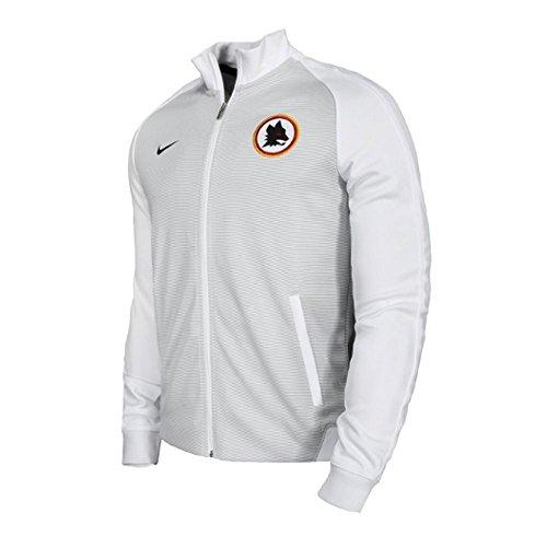 Nike NSW N98 Rome et TRK AUT AS Roma JKT Veste Homme Blanc (White / Black)