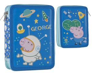 Plumier – Estuche doble – Peppa Pig – GEORGE