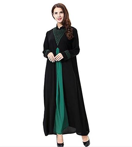 Dreamskull Muslim Abaya Dubai Kleid Muslimisch Islamisch Arabisch Indien Türkisch