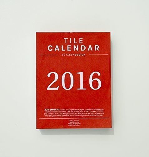 TACO CALENDARIO 2016. Día por hoja. 148x190mm. por Octagon Design
