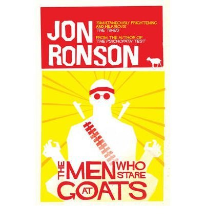 [THEMEN WHO STARE AT GOATS BY RONSON, JON]PAPERBACK