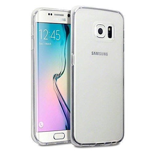 Samsung Galaxy S7–PREMIUM QUALITäT Ultra Thin Clear Gel Fall/Cover + Gratis Displayschutzfolie und Reinigungstuch