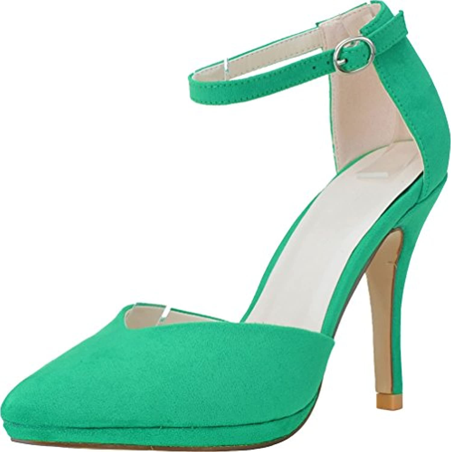 Find Nice , Bride Green, Cheville Femme - Vert - Green, Bride 36.5 EUB07FDDZHJWParent 0060ed