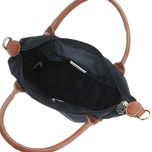 U.S.Polo Assn. Borsa a Mano Donna - 24-36x25x14 Cm Nero