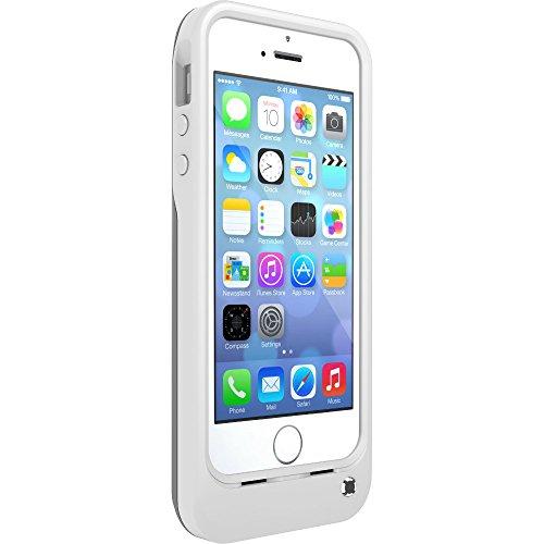 Otterbox Resurgence Power sturzsichere Schutzhülle mit eingebauten Lithium-Akku für Apple iPhone 5/5S Weiß (Iphone 5s Case Handy Otter Box)
