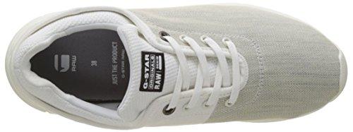 G-STAR RAW Grount, Sneakers Basses Femme Blanc (White 110)