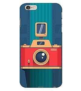 Vintage Flash Camera 3D Hard Polycarbonate Designer Back Case Cover for Apple iPhone 6 Plus