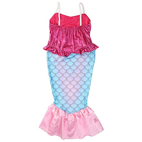 Homeyou The Little Mermaid Ariel Kids Baby Girls Dresses Princess Cosplay Clothes