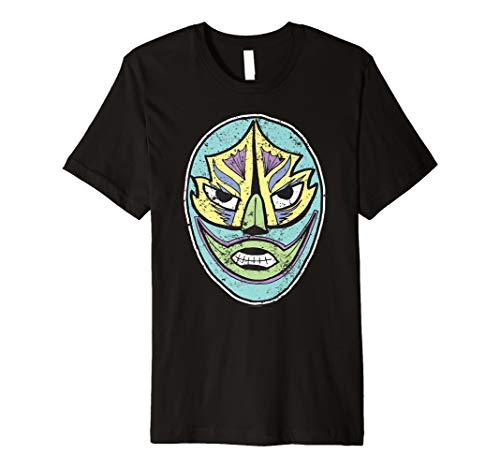(Mexikanische Kostüm Halloween Wrestler Maske)