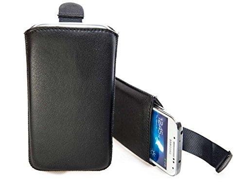 caseroxx Slide-Etui Handy-Tasche für Motorola RAZR i aus Neopren, Handy-Hülle in schwarz