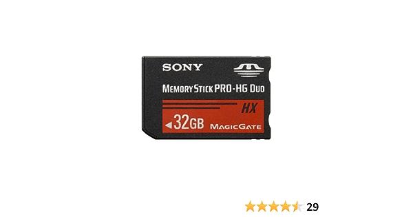 Sony Ms Hx32b 32gb Ms Pro Hg Speicherkarte Computer Zubehör