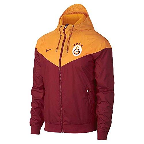galatasaray jacke nike Nike Galatasaray Authentic Herren Kapuzenjacke L Pepper Red/Vivid Orange/(Pepper Red)