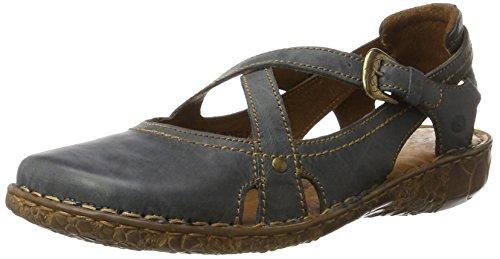 Josef Seibel Damen Rosalie 13 Geschlossene Sandalen, Blau (Jeans), 37 EU