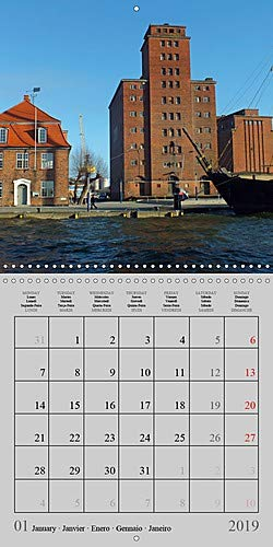 A German Hanseatic city of Wismar (Wall Calendar 2019 300 × 300 mm Square): Wismar the pearl of the Baltic Sea, medieval architecture and friendly ... calendar, 14 pages (Calvendo Places)