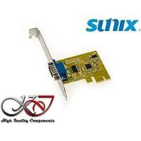 KALEA-INFORMATIQUE © - Carte Controleur PCI Express (PCIE) Série RS232 - 1 PORT COM RS-232 DB9 - Chipset SUNIX SUN2212 (SER6427A) - GAMME INDUSTRIELLE