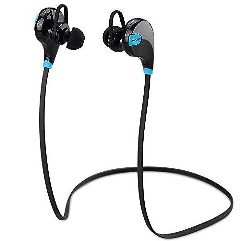 Mpow Swift Oreillette Bluetooth Stéréo sans fil, Casque Bluetooth de