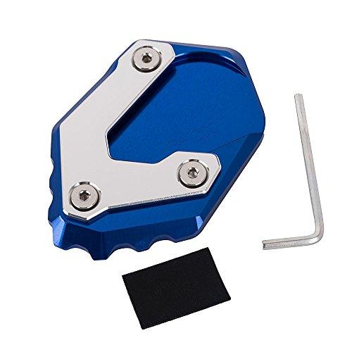 Neues Motorradzubehör Aluminium Ständer Vergrößerungs Platte Erweiterungspolster für R1200GS LC 2013-2018, Nicht für R1200GS Adventure LC (Blau)