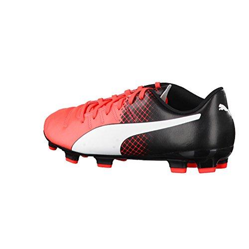 Puma Evopower 4 3 Fg, Chaussures de Football Amricain Homme, Neonrot / Schwarz neonrot / schwarz