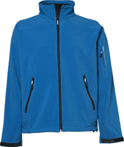 TJ9525 Mens Light Weight Stretch Softshell Jacke Herrenjacke Brilliant Blue