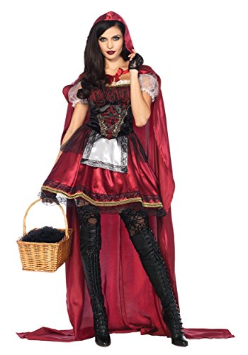 Women's Captivating Miss Red Fancy dress costume ()