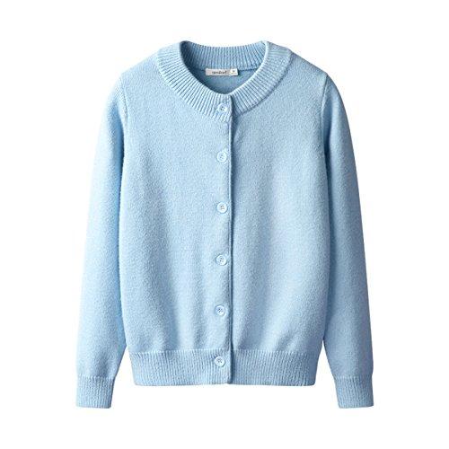 Sunny Dream L'automne l'automne et l'Hiver Femme Veste Veste femme Pull Light Blue