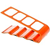 Generic Remote Control Tidy Holder and TV Remote Organizer Cellphone Holder Orange