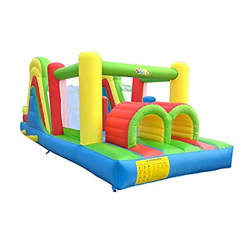 YARD Kids Bouncy Castle Inflatable Bouncer Bounce House and Slide