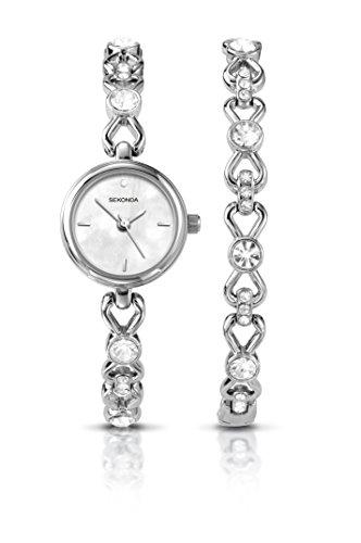 Sekonda - Set regalo composto da orologio e bracciale